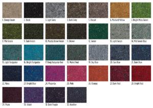 Liadain Aiken KNitwear Yarn swatches pick your colours