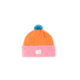 Sustainable kids hat Pink Orange Blue Beanie