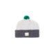 Grey Unisex baby hat wool soft slow fashion