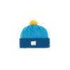 Blue Teal Childrens Hat Soft Lambswool sustainable irish design handmade