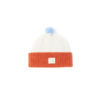 Orange Cream Kids Hat Lambswool Ecobaby ethical irish design