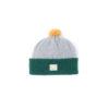 Grey green kiddys wool hat ecobaby