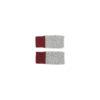 mittens flecked wool grey wine sustainably irish design unisex handmade