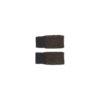 mittens flecked wool brown black sustainably s irish design unisex handmade