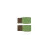 mittens flecked wool green light dark ethical irish knitwear unisex handcrafted