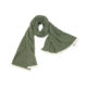 Sage green moss scarf wool lamsbwool ethical sustainable irish knitwear