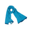 Barracuda scarf shawl blue deep sea sustainable fashion hand crafted artisan