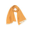 shawl scarf mustard ethical sustainable made in ireland