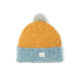 beanie lambswool flecked yellow mid green blue light green blue ethical irish knitwear