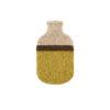 hot water bottle covers biscuit yellow merino flecked sustainable irish knitwear handmade