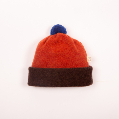 Irish handcrafted wool kids hat